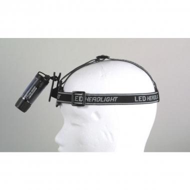 Relags LED Clip Leuchte, mit Stirnband transparent, schwar