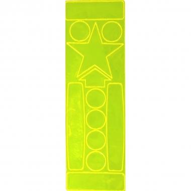 Reflexite Aufkleber Set leuchtgelb
