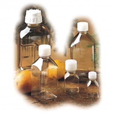 Nalgene Polycarbonat-Flasche, Quader 1000 ml, Hals innen Ø 2