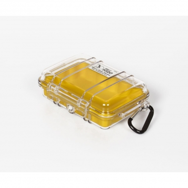 Peli MicroCase 1020 klar / gelb