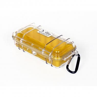 Peli MicroCase 1030 klar / gelb