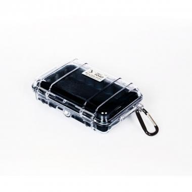 Peli MicroCase 1040 klar / schwarz
