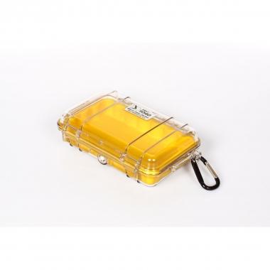 Peli MicroCase 1040 klar / gelb