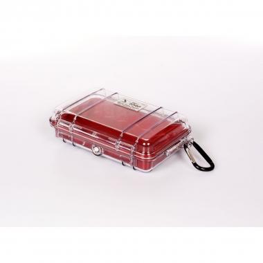Peli MicroCase 1040 klar / rot