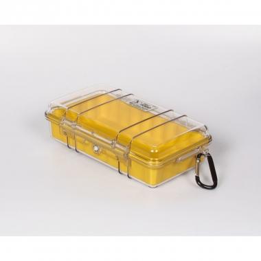 Peli MicroCase 1060 klar / gelb