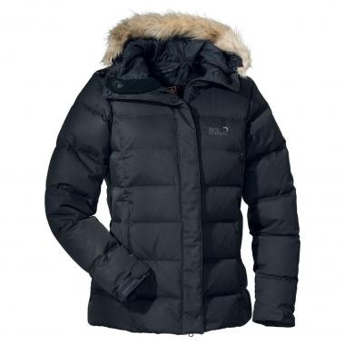 Jack Wolfskin Baffin Jacket Women - shadowblack / L