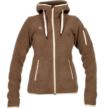 Bergans Hadsel Lady Jacket - greyisch-light-brown/cream / L