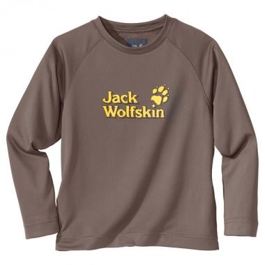 Jack Wolfskin Kids Hillside Longsleeve - stone / 116