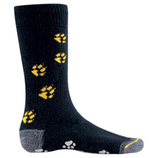 Jack Wolfskin Kids Indoor Sock - black / 28-30