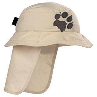 Jack Wolfskin Kids Protection Hat - ivory / M