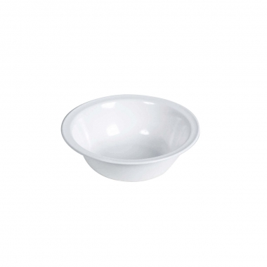 Melamin, weiss Schüssel groß Ø 23.5 cm