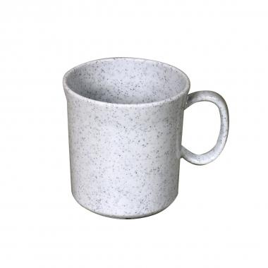 Melamin, granit Henkelbecher 400 ml