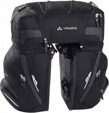 Vaude Karakorum Fahrradtasche - black-anthracite