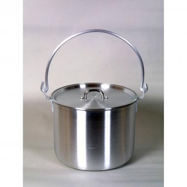 Relags Biwak Hordentopf, Aluminium 8,5 Liter, mit Deckel
