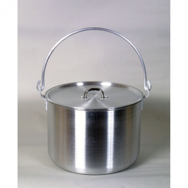 Relags Biwak Hordentopf, Aluminium 12,5 Liter, mit Deckel