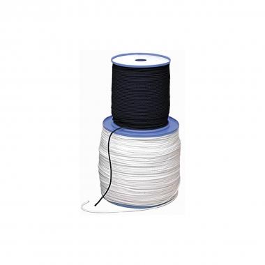 Relags Seile auf 200 Meterrollen 4mm, schwarz