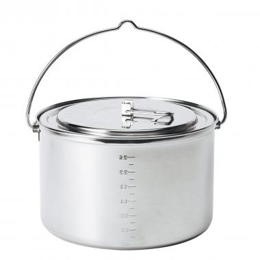Primus Edelstahltopf Gourmet 2,9 Liter Inhalt