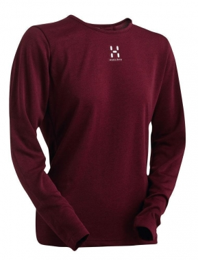 Haglöfs Return Q Ls Tee - mellow-red / S