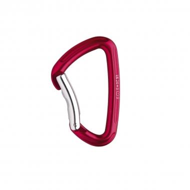 Salewa Karabiner HOT G2 bent, rot
