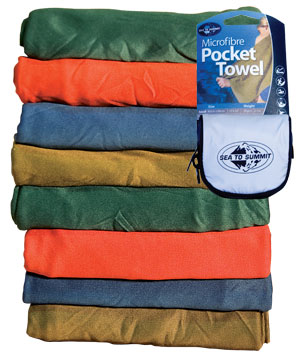 Sea to Summit Pocket Towel Mikrofaser Handtuch - Large