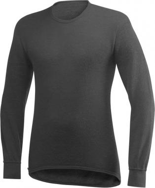 Woolpower Unterhemd Rundhals 200 Gramm - grau / S