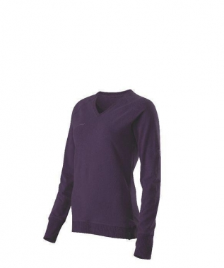 Mammut Jess Longsleeve Women - night-shade / L
