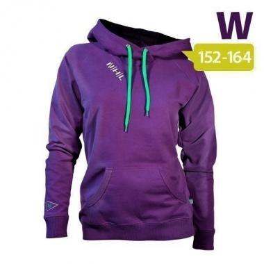 Nihil Songe Hooded Sweater Women - deep-purple / XS