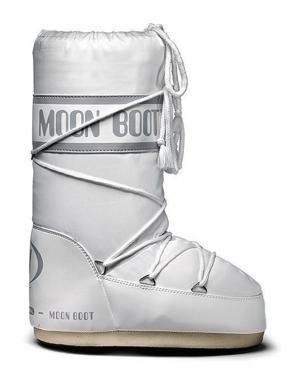 Tecnica Moon Boot Nylon - weiss / 42/44