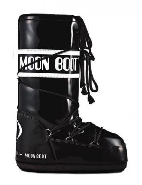 Tecnica Moon Boot Vinyl - schwarz-weiss / 42/44