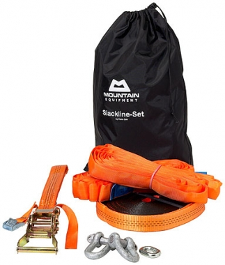 Mountain Equipment Slackline-Set Heinz Zack 18 M Passion