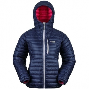 Rab Womens Microlight Alpine Jacket - khaki / 40