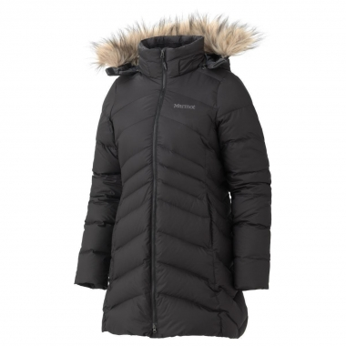 Marmot Womens Montreal Coat - black / XL