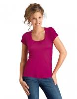 Women T-Shirt Moody Fuchsia