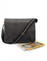 Vintage Canvas Despatch Bag schwarz