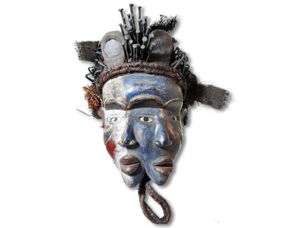 Bakongo Maske Kongo Afrika 46cm