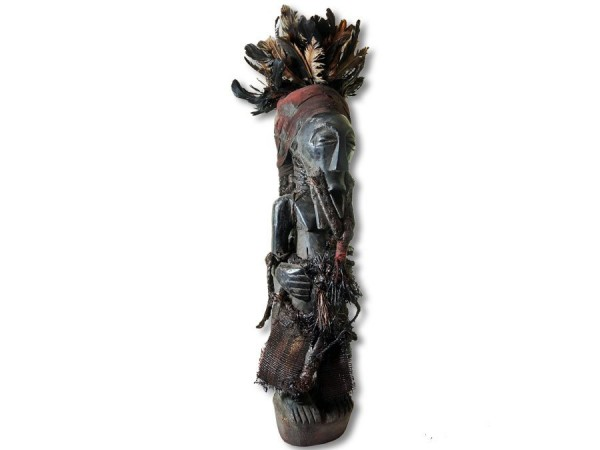 Songye/Bassonge-Figur, Kongo/Afrika 75cm