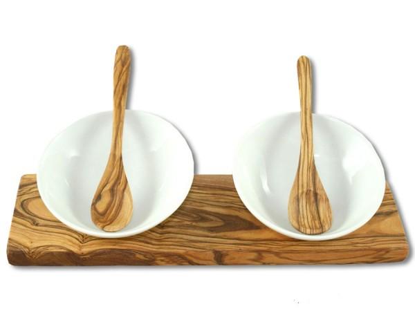 Olivenholz Dipschälchen 24cm