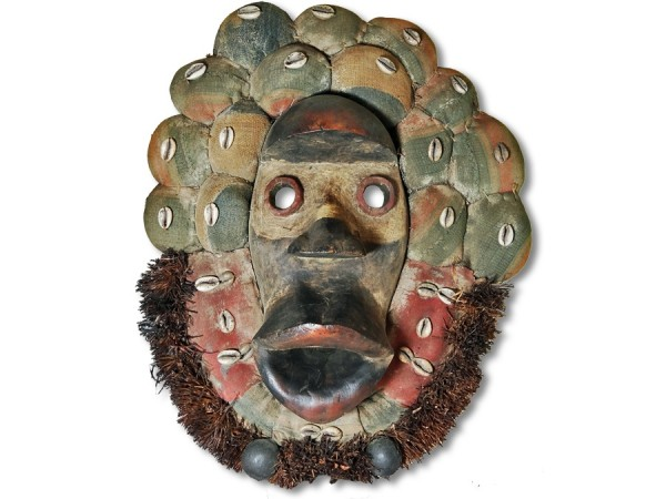Maske der Dan Liberia/Afrika 47cm