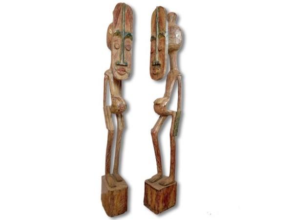Paar der Senufo 97cm