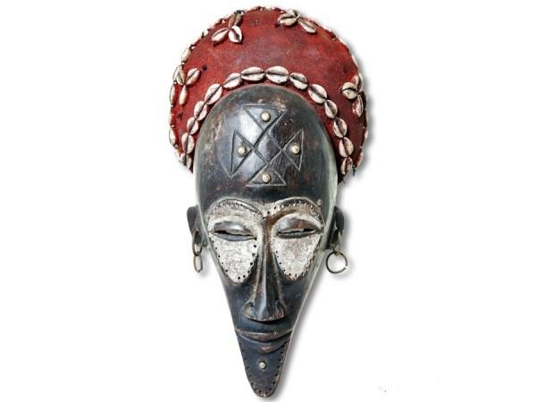 Maske der Chokwe DR Kongo/Congo Afrika 40cm