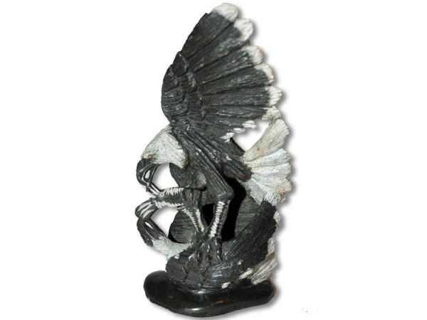 Steinskulptur Shona-Art Adler 22cm