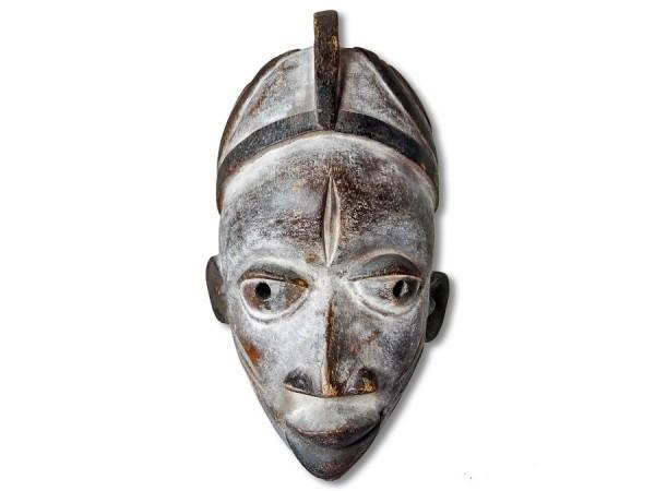 Afrikanische Maske der Yoruba 29cm