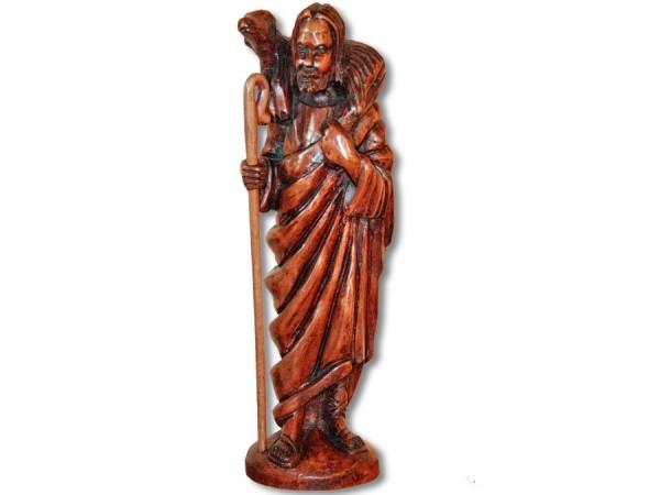 Jesus heiligen Figur / Krippenfigur Afrika Import 32cm