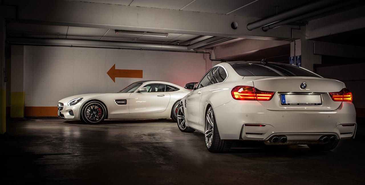 1 Tag BMW M4 Coupé selber fahren in Rosenheim