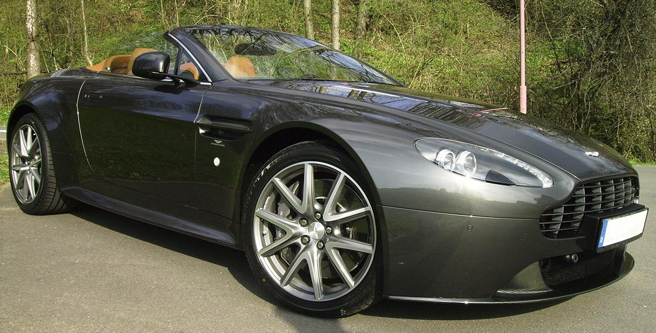 30 Min. Aston Martin Vantage S Roadster selber fahren in Mömbris