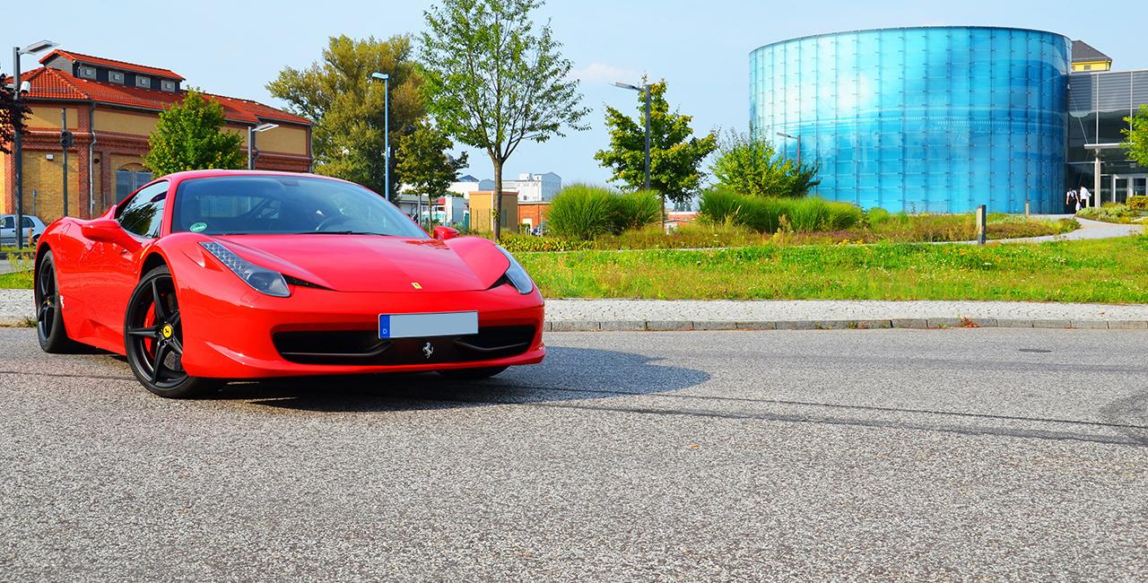 30 Tage Ferrari 458 Italia mieten Hamburg