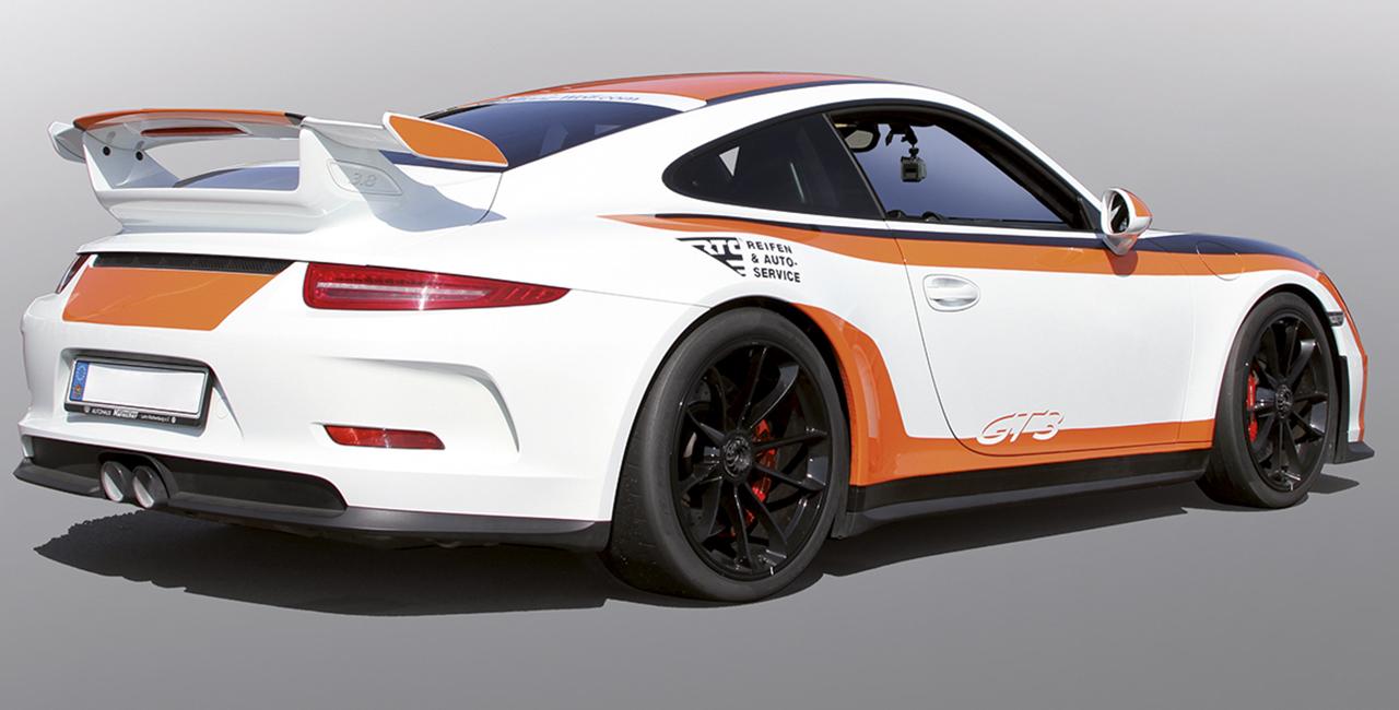 6 Runden Porsche 911 GT3 selber fahren auf dem Spreewaldring