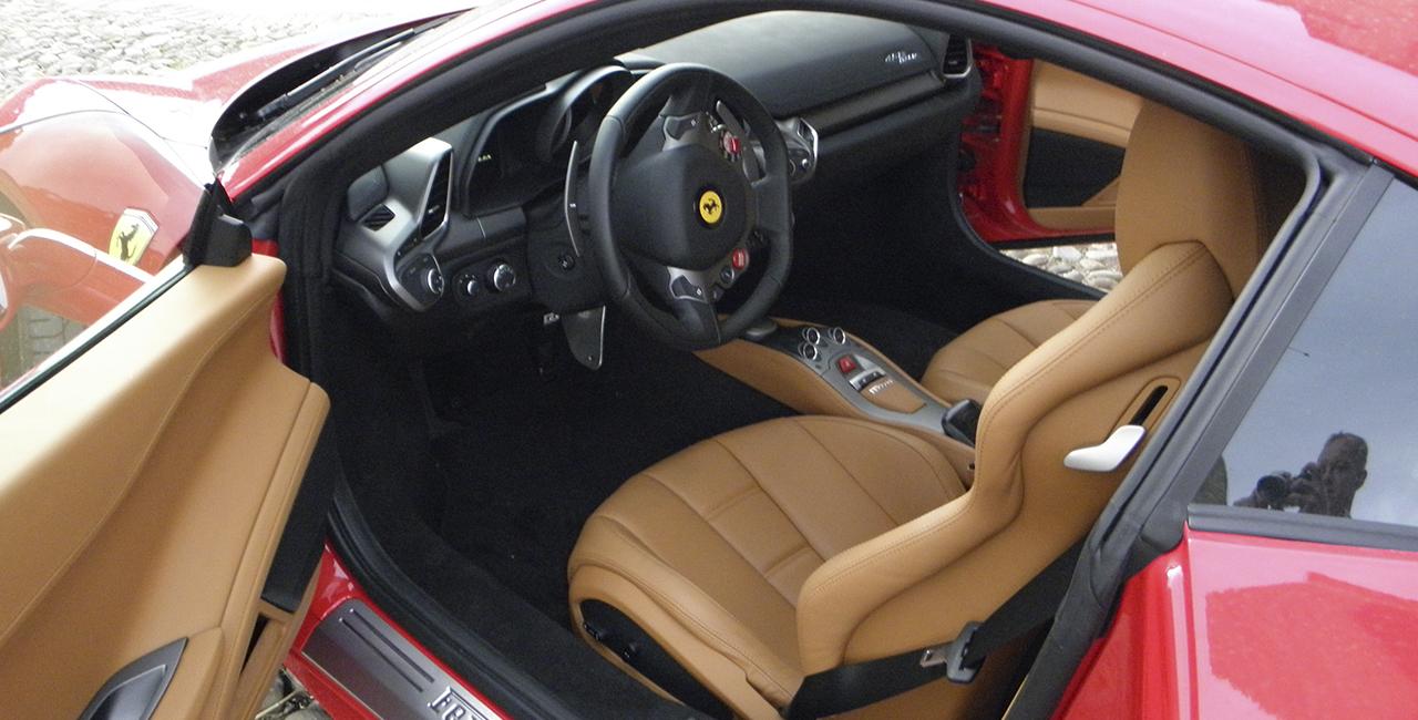 60 Min Ferrari F458 selber fahren in Mömbris, Raum Aschaffenburg