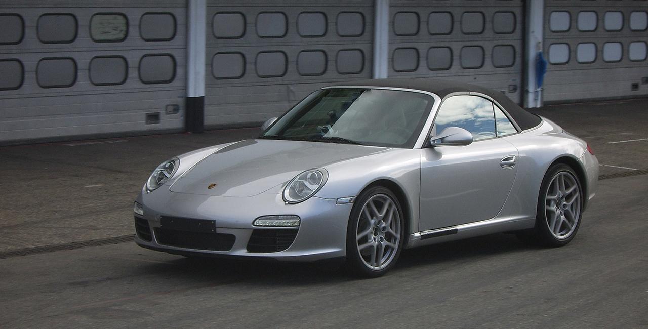 60 Min. Porsche 911 Carrera 4S Cabrio selber fahren in Stutensee