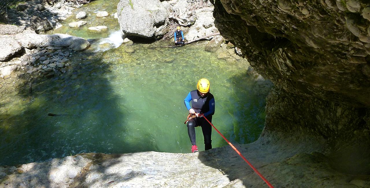 Canyoning Tour Fortgeschrittene Reutte